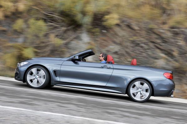 Neues BMW 4er Cabrio