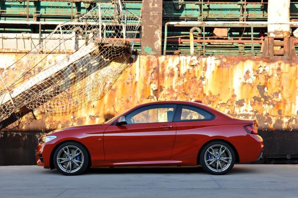 BMW 2er Coupe Seitenansicht