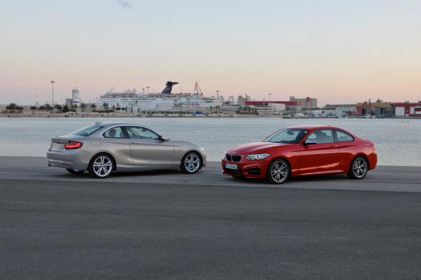 BMW 2er Coupe Front und Heck