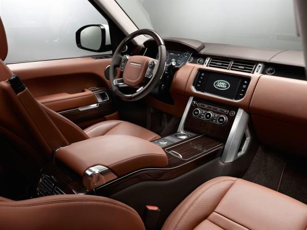 Land Rover Range Rover Black Innenraum