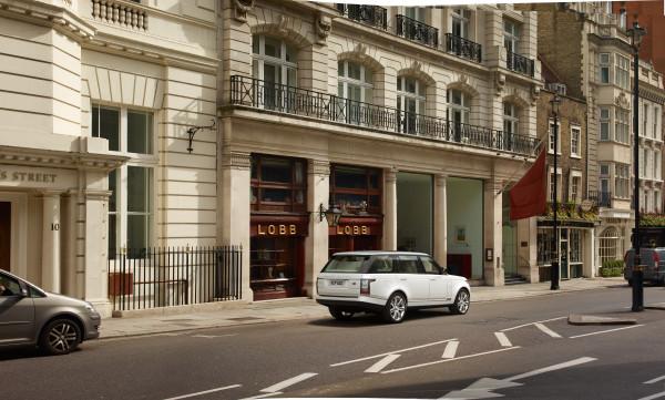 Land Rover Range Rover SUV Heck
