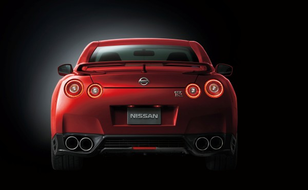 Nissan GT-R 2014 Heck
