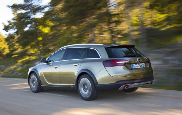 Opel Insignia Country Tourer Heck
