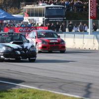ROAC 2013 Mitsubishi Lancer EVO vs Subaru Impreza