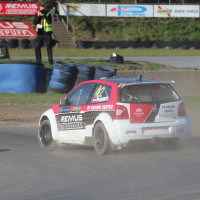 ROAC 2013 VW Polo S1600 Christian Petrakovits Rallycross 2WD