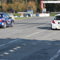 ROAC 2013 Subaru Impreza Peugeot 207 S2000