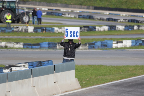 Race of Austrian Champions 2013 5 Sekunden Tafel
