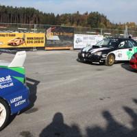 Race of Austrian Champions 2013 Mitsubishi Lancer EVO und Subaru Impreza
