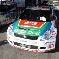 Race of Austrian Champions 2013 Suzuki Swift Rallye 2WD Michael Böhm