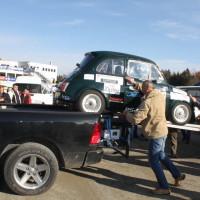 Race of Austrian Champions Steyr Puch 650 Verladung