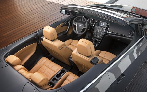 Opel Cascada Cockpit Innenraum