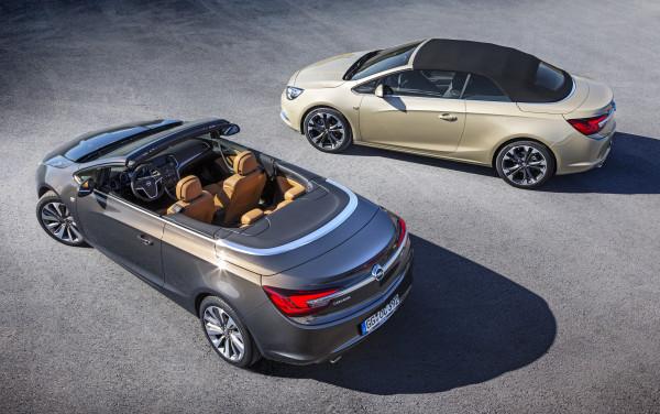 Opel Cascada Dach offen geschlossen