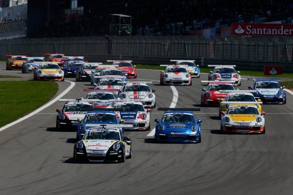 Porsche Cup Rennen Motorsport 2014