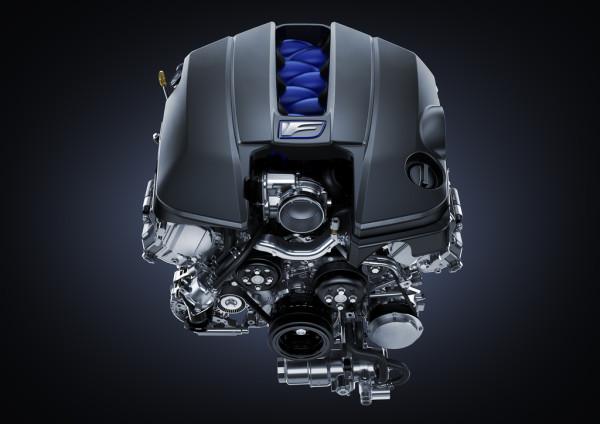 Lexus RC F Sportwagen Motor