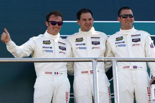 Porsche Werksfahrer Richard Lietz Nick Tandy Patrick Pilet