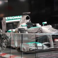 Vienna Autoshow 2014 Mercedes-Benz Formel 1 Showcar F1 W04 - 2013