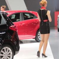 Vienna Autoshow 2014 Messe Girl Hostessen