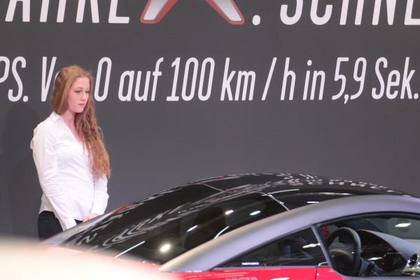 Vienna Autoshow 2014 Messe Girls Hostessen