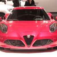 Vienna Autoshow 2014 Alfa Romeo 4C