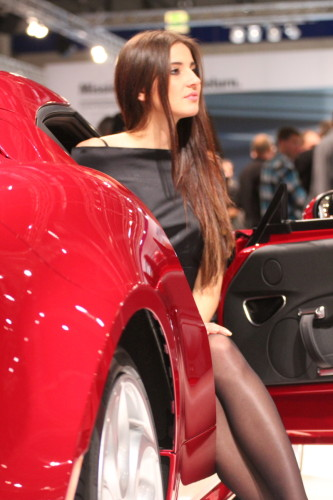 Vienna Autoshow 2014 Messe Girl Model