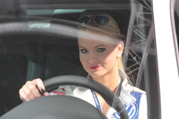 Vienna Autoshow 2014 Messe Girl