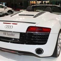 Vienna Autoshow 2014 Audi R8 Spyder