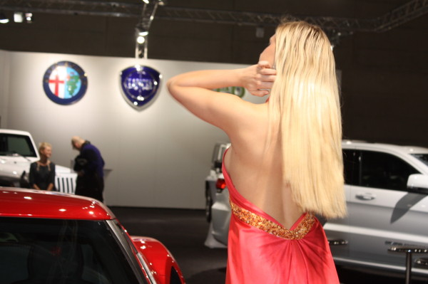 Vienna Autoshow 2014 Messe Girls Models