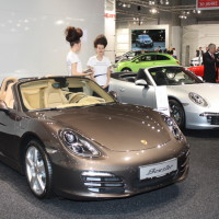 Vienna Autoshow 2014 Porsche Boxster