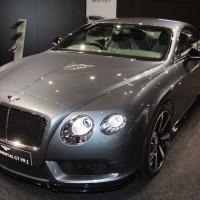 Vienna Autoshow 2014 Bentley Continental GT V8 S