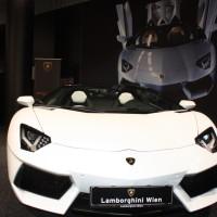 Vienna Autoshow 2014 Lamborghini LP 700-4 Roadster