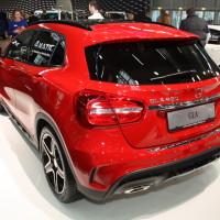 Vienna Autoshow 2014 Mercedes-Benz GLA