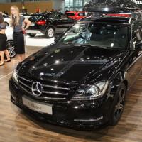 Vienna Autoshow 2014 Mercedes-Benz C-Klasse