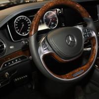 Vienna Autoshow 2014 Mercedes-Benz S-Klasse Innenraum