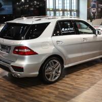 Vienna Autoshow 2014 Mercedes-Benz ML 63 AMG
