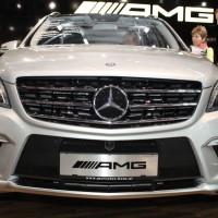 Vienna Autoshow 2014 Mercedes-Benz ML 63 AMG V8 Biturbo