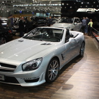 Vienna Autoshow 2014 Mercedes-Benz SL 63 AMG