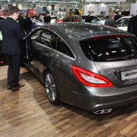 Vienna Autoshow 2014 Mercedes-Benz CLS 63 AMG S 4Matic Shooting Brake
