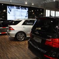 Vienna Autoshow 2014 Mercedes-Benz SUV Geländewagen