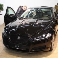 Vienna Autoshow 2014 Jaguar XF