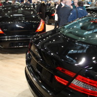Vienna Autoshow 2014 Jaguar XF und XJ