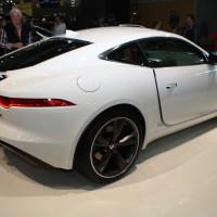 Vienna Autoshow 2014 Jaguar F-Type Coupe