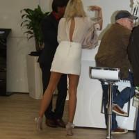 Vienna Autoshow 2014 hübsche Frauen