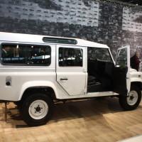 Vienna Autoshow 2014 Land Rover Defender