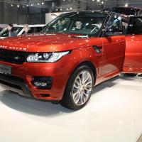 Vienna Autoshow 2014 Range Rover Sport Land Rover