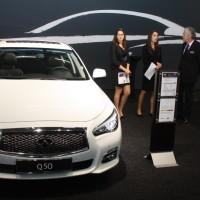 Vienna Autoshow 2014 Infiniti Q50