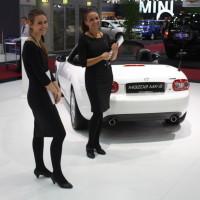 Vienna Autoshow 2014 Messe Girls Models