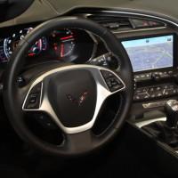 Vienna Autoshow 2014 Chevrolet Corvette Stingray Innenraum