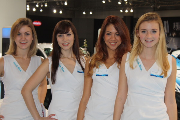 Vienna Autoshow 2014 Messe Girls Model