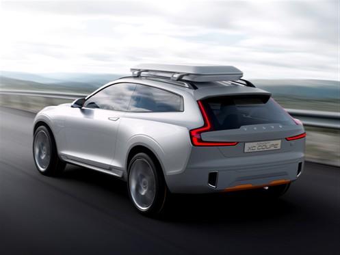 Volvo Concept XC Coupé Heck