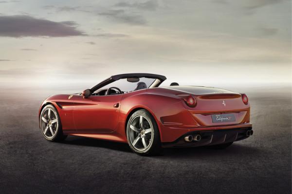 Ferrari California T Heck Seite